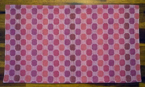 Circles and Checks Towels 04